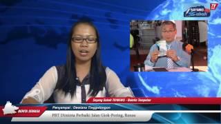 PBT Diminta Perbaiki Jalan Giok-Poring, Ranau