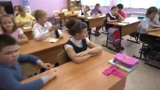 Съёмка сцены - ''Школа последний урок'' х/ф ''Услышь меня'' в гимназии № 7 г.Красноярска