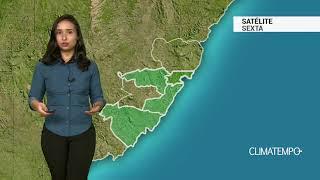 Previsão Grande Vitória - Chuva passageira