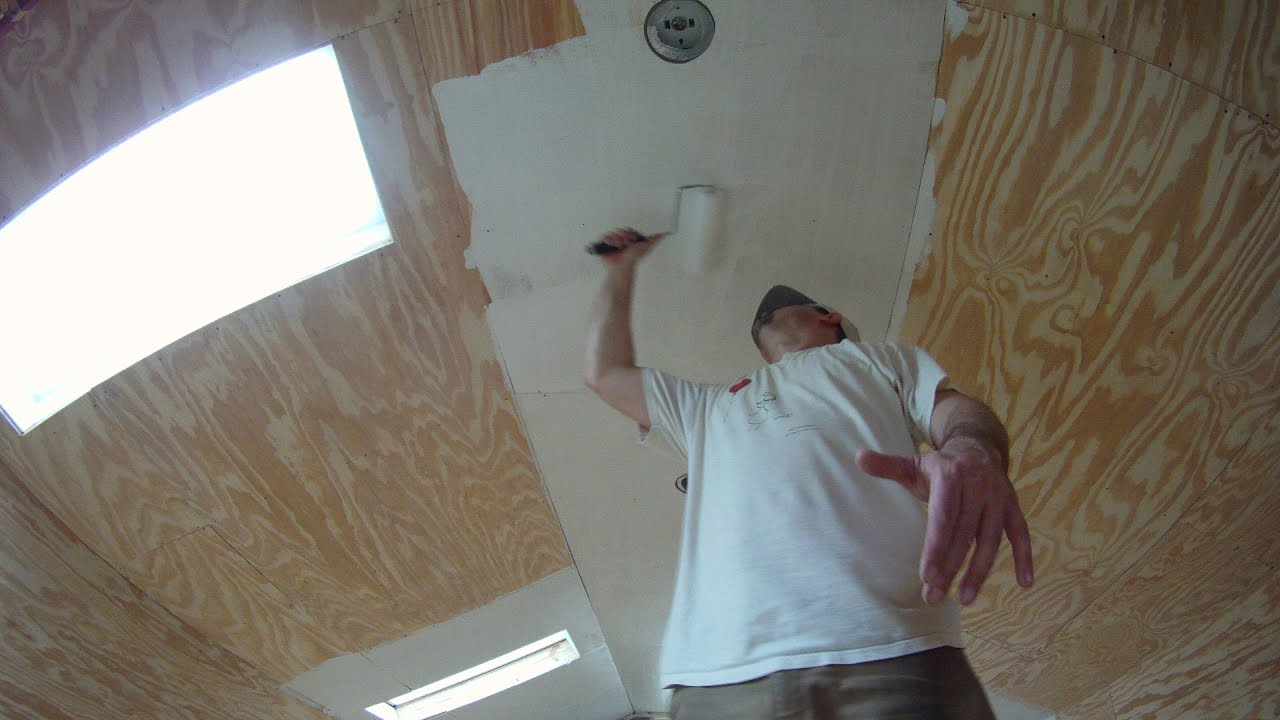 Painting My Garage Interior Time Lapse Youtube