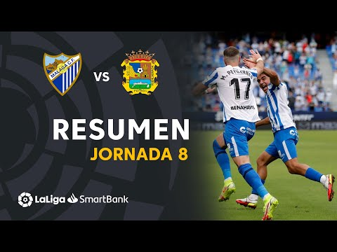 Malaga CF Fuenlabrada Goals And Highlights