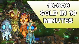 World Of Warcraft Make Up To 10,000 Gold In 10 Minutes