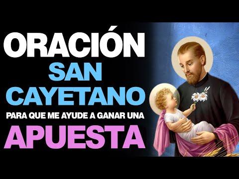"""🙏 Hermosa Oración """"TE APUESTO Y TE GANO"""" a San Cayetano 🙇️"""