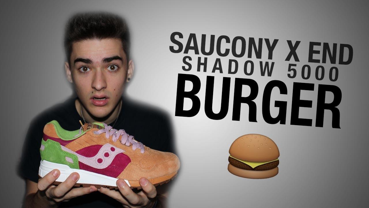 best service 3e0a7 f3deb Review | Saucony x END - Shadow 5000 (Burger)