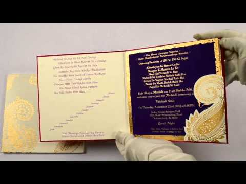 RP4106, Pink Color, Designer Multifaith Invitations, Marriage Cards, Indian Wedding Card