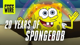 SpongeBob's 20 Years 20 Questions Celebration | SYFY WIRE