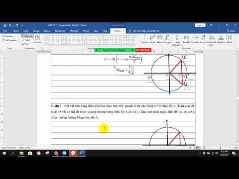 Ôn thi THPT 2022 môn Vật lý 12 chương Dao động điều hoà, dạng 13-14