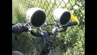 Bicycle Bose sound system