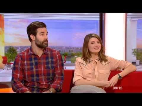 Sharon Horgan Rob Delaney Catastrophe BBC Breakfast 2015