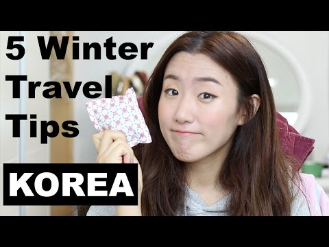 5 things to know before visiting Korea for Winter!  ♥HaleyProject