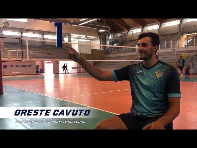 Oreste Cavuto 1 - Top Volley Cisterna 2020/2021