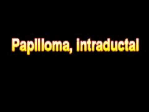 define papilloma medical terminology)