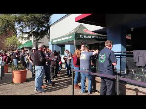 2018 Pliny the Younger Release Day Line at Russian River Brewery - Santa Rosa, CA