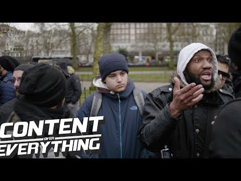 """Jamaican Sunni (Abdullah) Asks Isa """"How Can You Be A Shia"""" 
