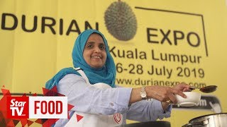 DURIAN ADVENTURE: Cooking demo with durian