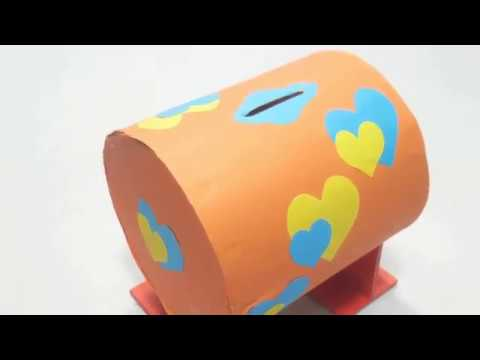 Simple Piggy Bank | DIY Coin Bank Idea & How to Make It