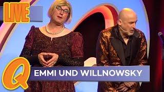 Emmi und Willnowsky suchen den richtigen Wein zum Hochzeitstag
