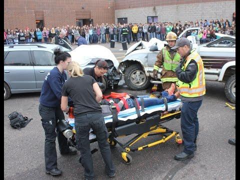 Video: Mock Accident at Hayward High School