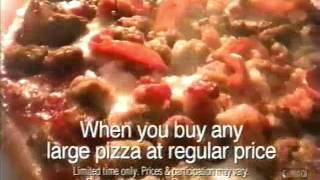 Pizza Hut Free DVD | Television Commercial | 2003 | Queen Lati…