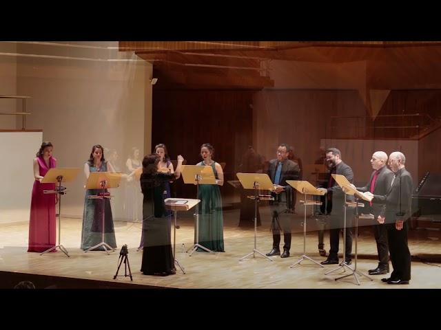 Ojos claros, serenos. Salvador  Bacarisse. Ensemble Vocal Mirtos Dir. Nuria Fernández Herranz