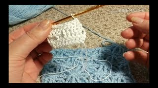 Урок 109. Как вязать рельефные столбики. Вязание крючком для начинающих.