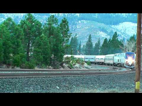 Amtrak 956, the Reno Fun Train, at Crockett 3-13-15 from YouTube · Duration:  1 minutes 1 seconds