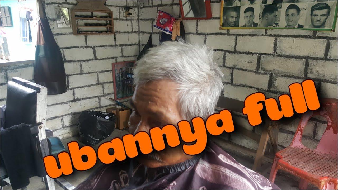Potong rambut putih..(full uban)
