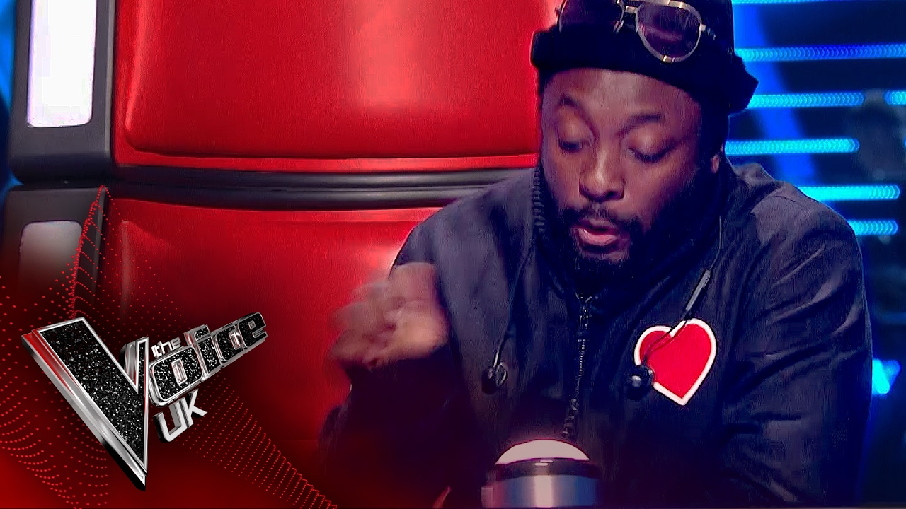 Will I Am Accidentally Presses His Button The Voice Uk
