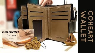 Coheart Wallet - Unboxing and review of the real leather wallets from Aliexpress