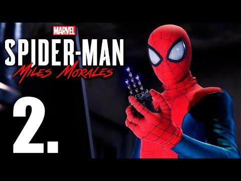 SPIDERMAN MILES MORALES PS5 PARTE 2 *DIFICULTAD ESPECTACULAR* - GAMEPLAY ESPAÑOL