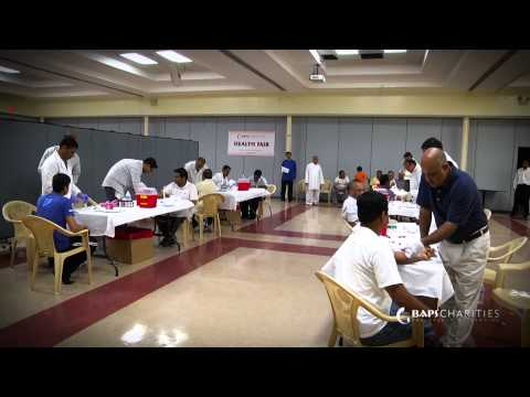 BAPS Charities Health Fair 2013, Edison, NJ