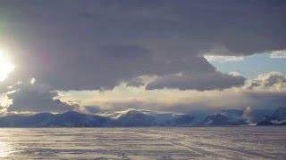 Whirlwind Inlet, Larsen C, Antarctica timelapse - MIDAS fieldwork 2015 11 05