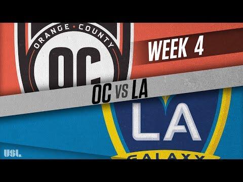Orange County SC vs LA Galaxy II: April 7, 2018