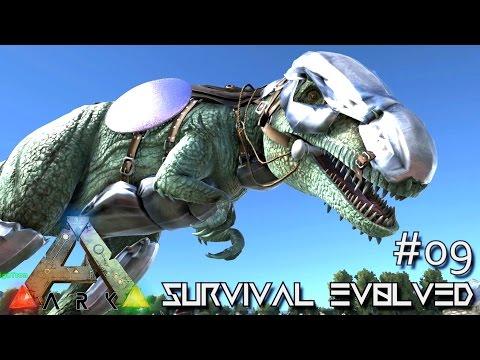 MODDED ARK: Survival Evolved - Giganotosaurus Armor Saddle !!! E09 (Gameplay)