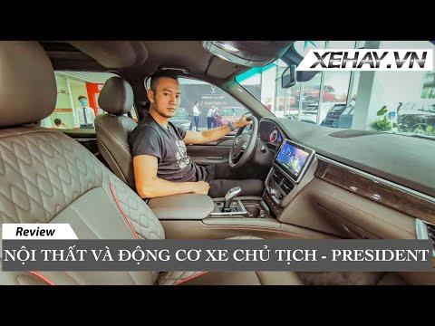 Nội thất và Động cơ xe CHỦ TỊCH - Vinfast President V8 | XE HAY