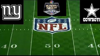 NFL Live | New York Giants vs. Dallas Cowboys LIVE Stream Play-by-Play, Reaction | 2018 NFL Week 2