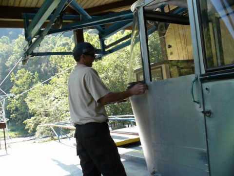 Pipestem State Park - Aerial Tram Station - Filmed on September 13, 2009