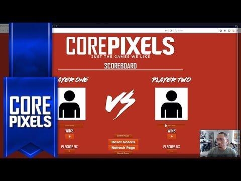 CorePixels Fighting Game Scoreboard (Feature)