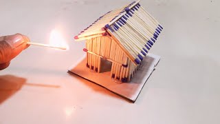 How To Make A Match Stick House (with different idea