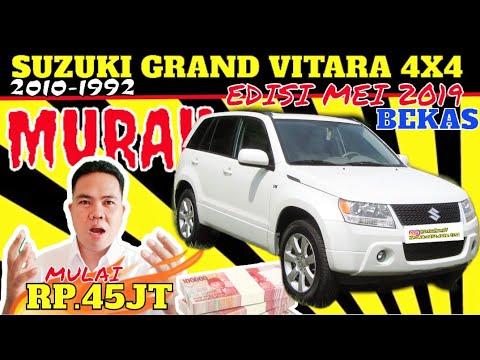 Update Daftar Harga Mobil Suzuki Grand Vitara 4x4 Bekas Murah Samarinda Edisi Mei 2019 Youtube