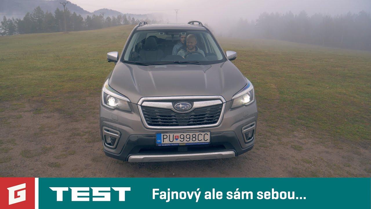 SUBARU FORESTER e-BOXER 2020 - SUV - TEST - GARAZ.TV - YouTube