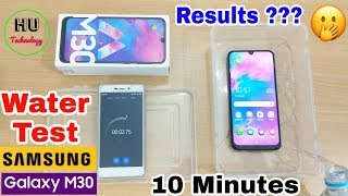 Water & Bend Test Samsung Galaxy M30 | 10 Minutes Water Test Samsung Galaxy M30 | Result ?????😱🙄😱