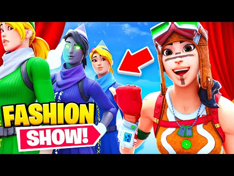 I STREAM SNIPED FASHION SHOWS WITH EVERY NEW SNOWBELL STYLE..
