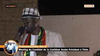 Meeting coalition Sonko Président à Thiès