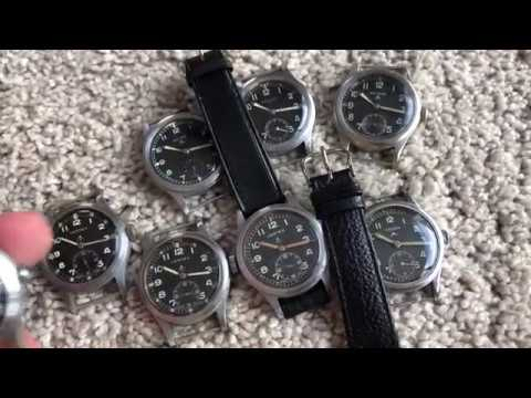 WWII British Military WWW Dirty Dozen Watches