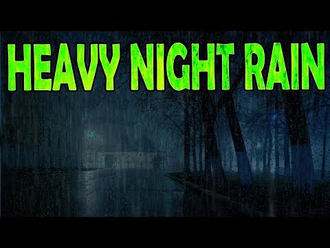 🎧 Heavy Rain Sounds at Night - Sleep, Study, Relax | Ambient Noise Rainstorm, @Ultizzz day#69
