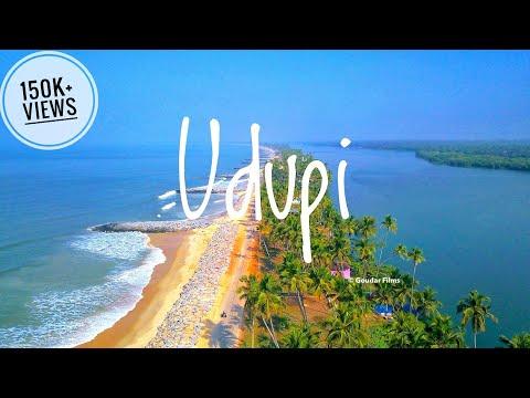 Udupi | Places to see in Udupi | Udupi Beaches Temples | Aerial View| Udupi Tourist Places Karnataka