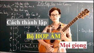 (GPT guitar school) Bài 8i: BỘ HỢP ÂM CỦA GAM