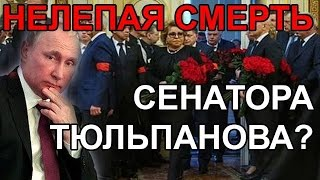 Убит сенатор Тюльпанов. Почему Это важно? Аарне Веэдла