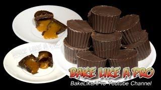 Caramel Filled Chocolates Recipe - Home made caramel filling ! yum !